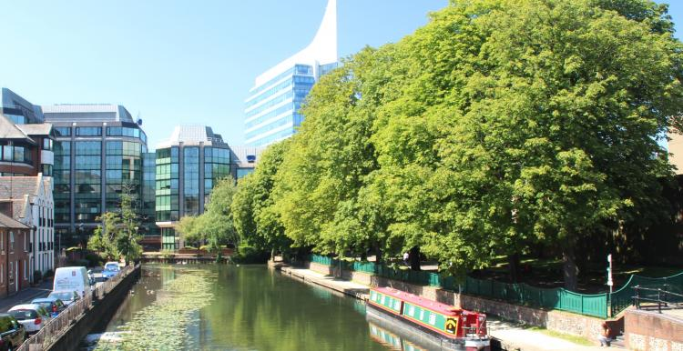 Photo of canal in Reading