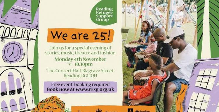 Reading Refugee We Are 25!