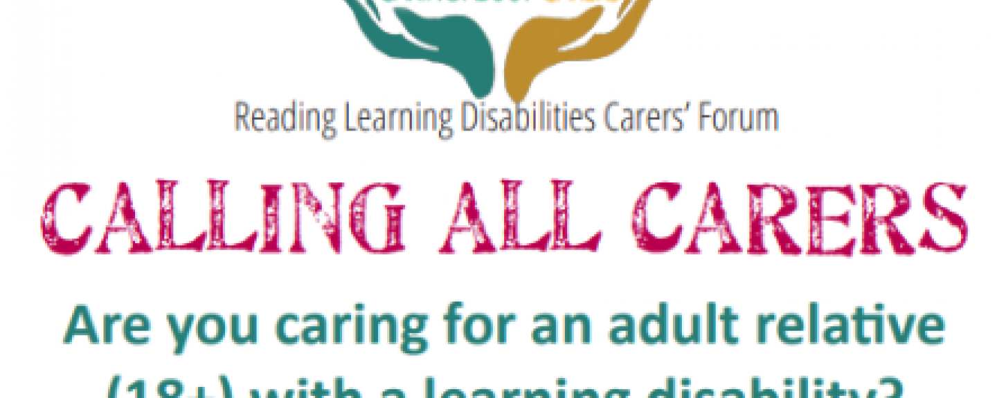 Reading Learning Disabilities Carers Forum