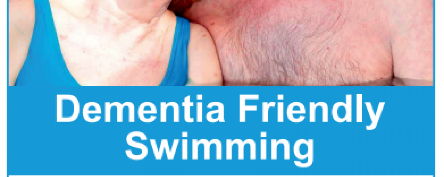 Dementia friendly swimming poster
