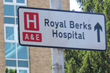 Photo of A&E sign