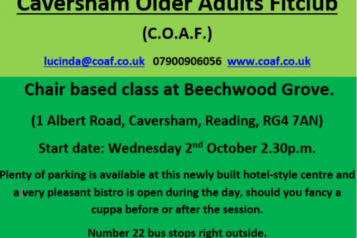 Caversham Older Adults Fitclub