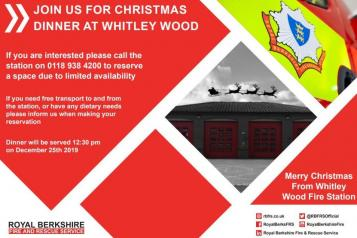 Christmas Dinner At Whitley Wood