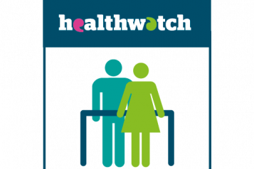 Infographic of Healthwatch staff