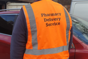 PharmacyDeliveryVest