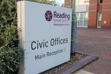 Photo of Reading Borough Council offices