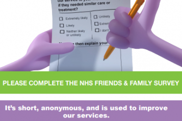 FriendsandFamilyPatient SurveyPoster