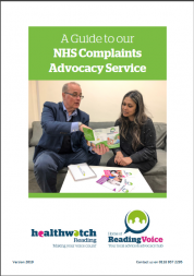 Cover of NHS Complaints Guide