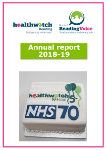Cover of 2018-19 annual report